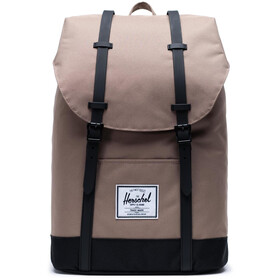 Herschel Retreat Zaino 19,5l, pine bark/black